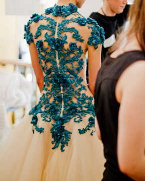 blue-embroidery-tulle-wedding-gown
